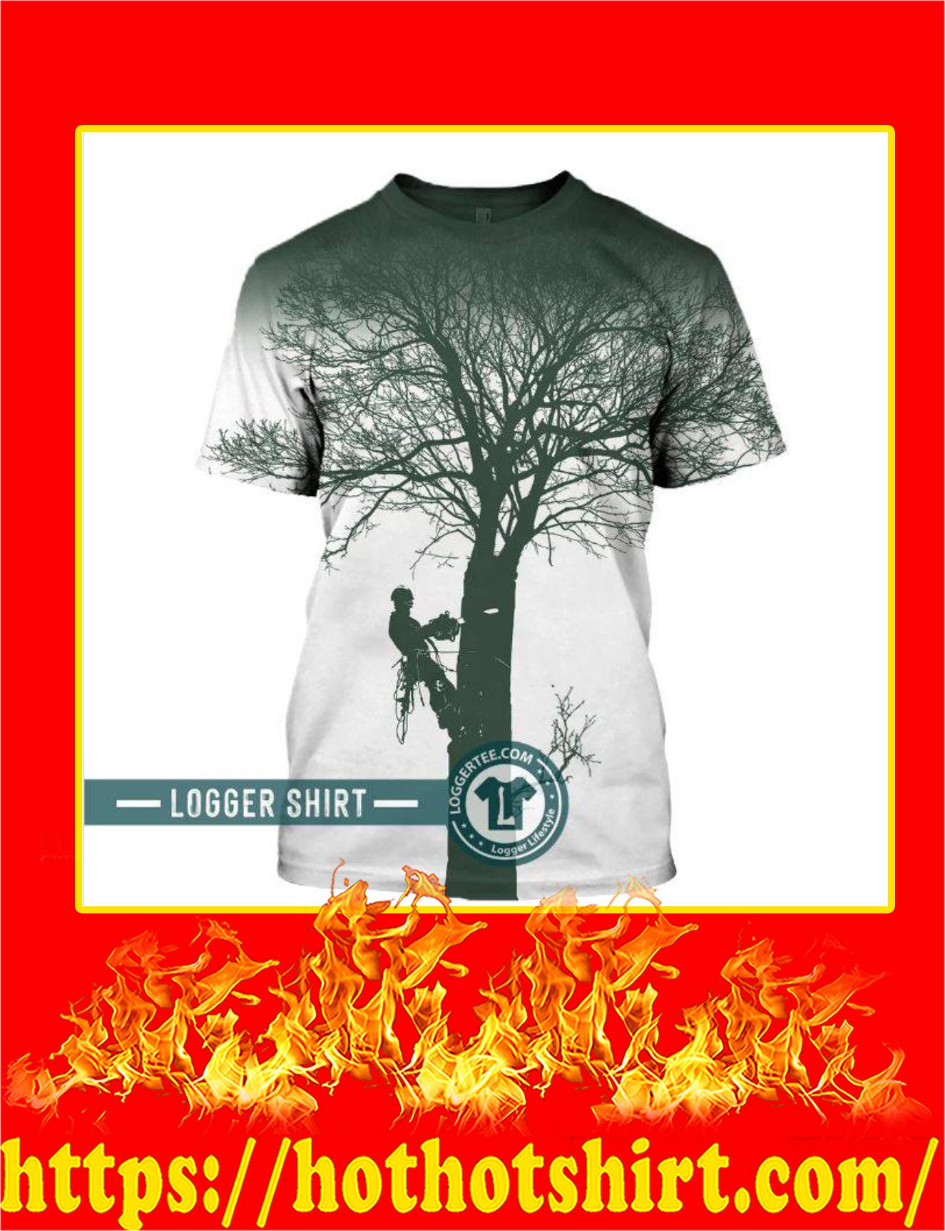 New Logger Daily Work 3D T-Shirt