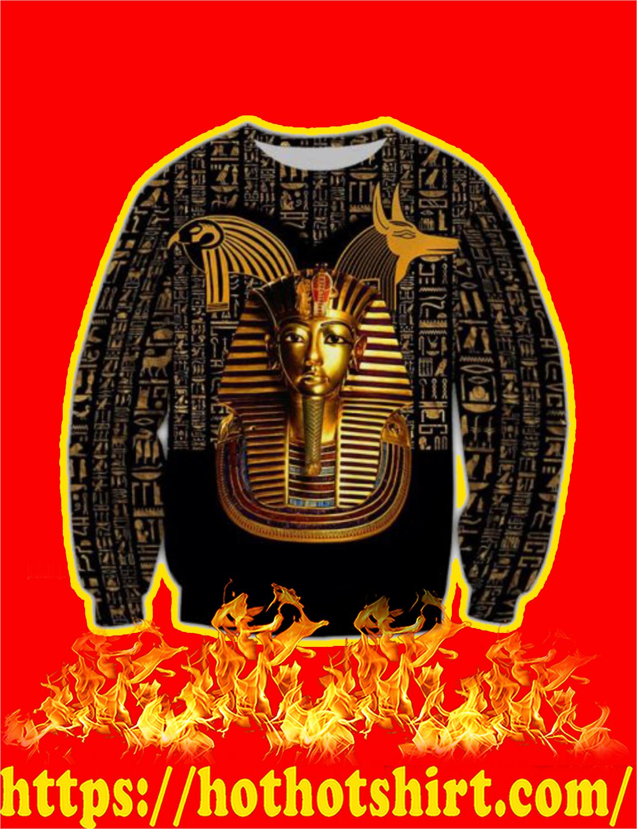 Pharaoh Ancient Egypt 3D All Over Printed Sweatshirt