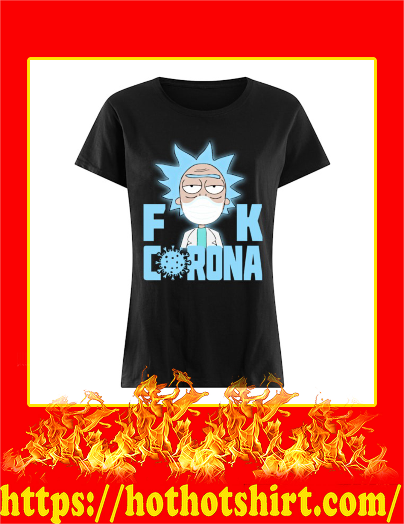 Rick Sanchez Fuck Corona Women Shirt