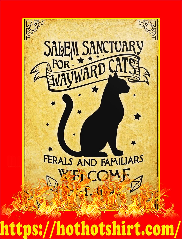 Salem Sanctuary For Wayward Cats Poster - A3