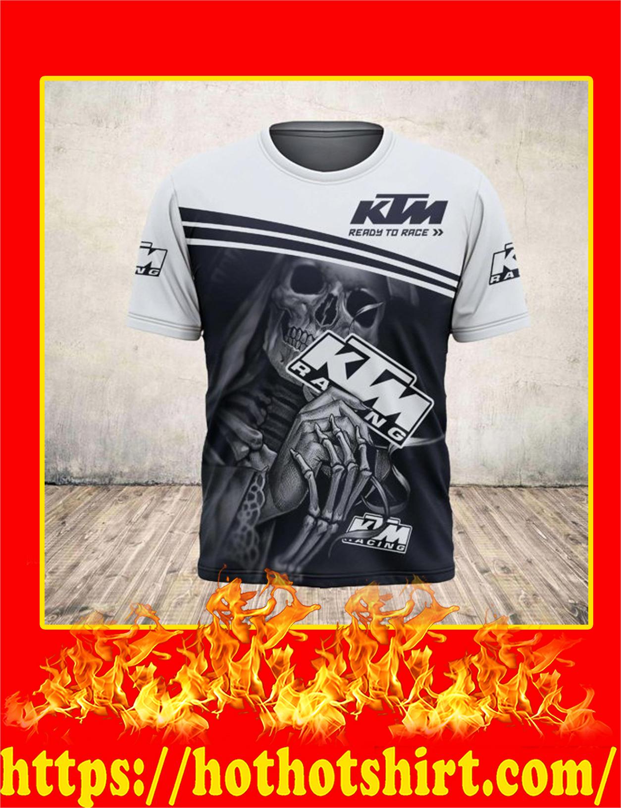 Skull Death Hug KTM 3D shirt