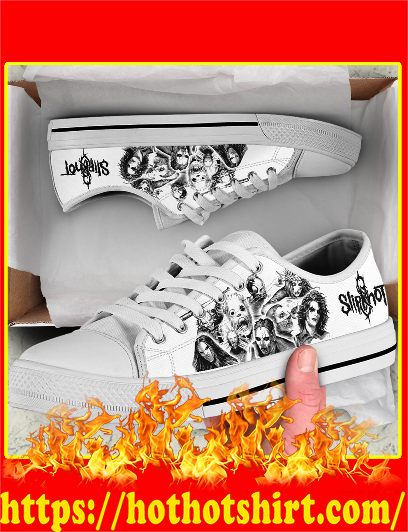 Slipknot Low Top Shoes-picture 1