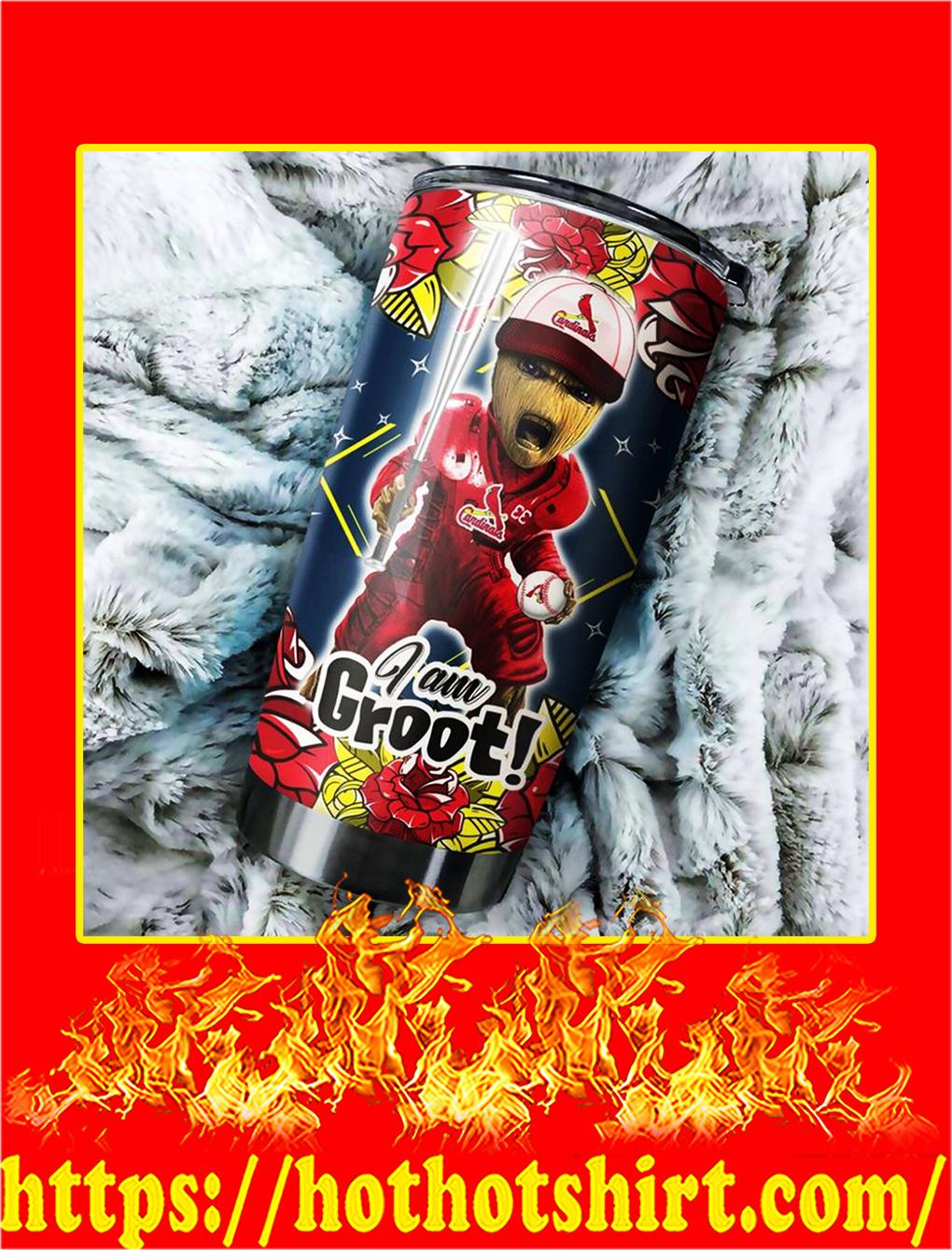 St Louis Cardinals I'm Groot Tumbler - 20 oz