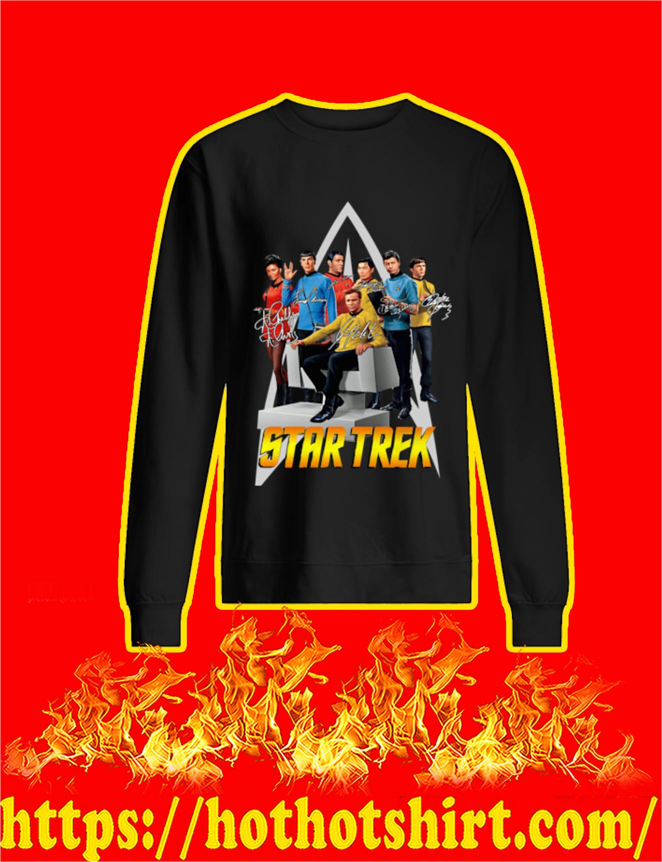 Star Trek Actor Signature Sweatshirt