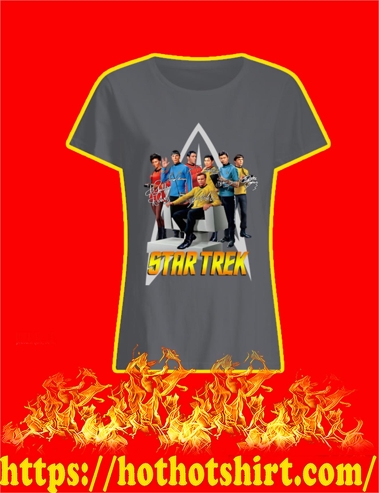 Star Trek Actor Signature Women Shirt