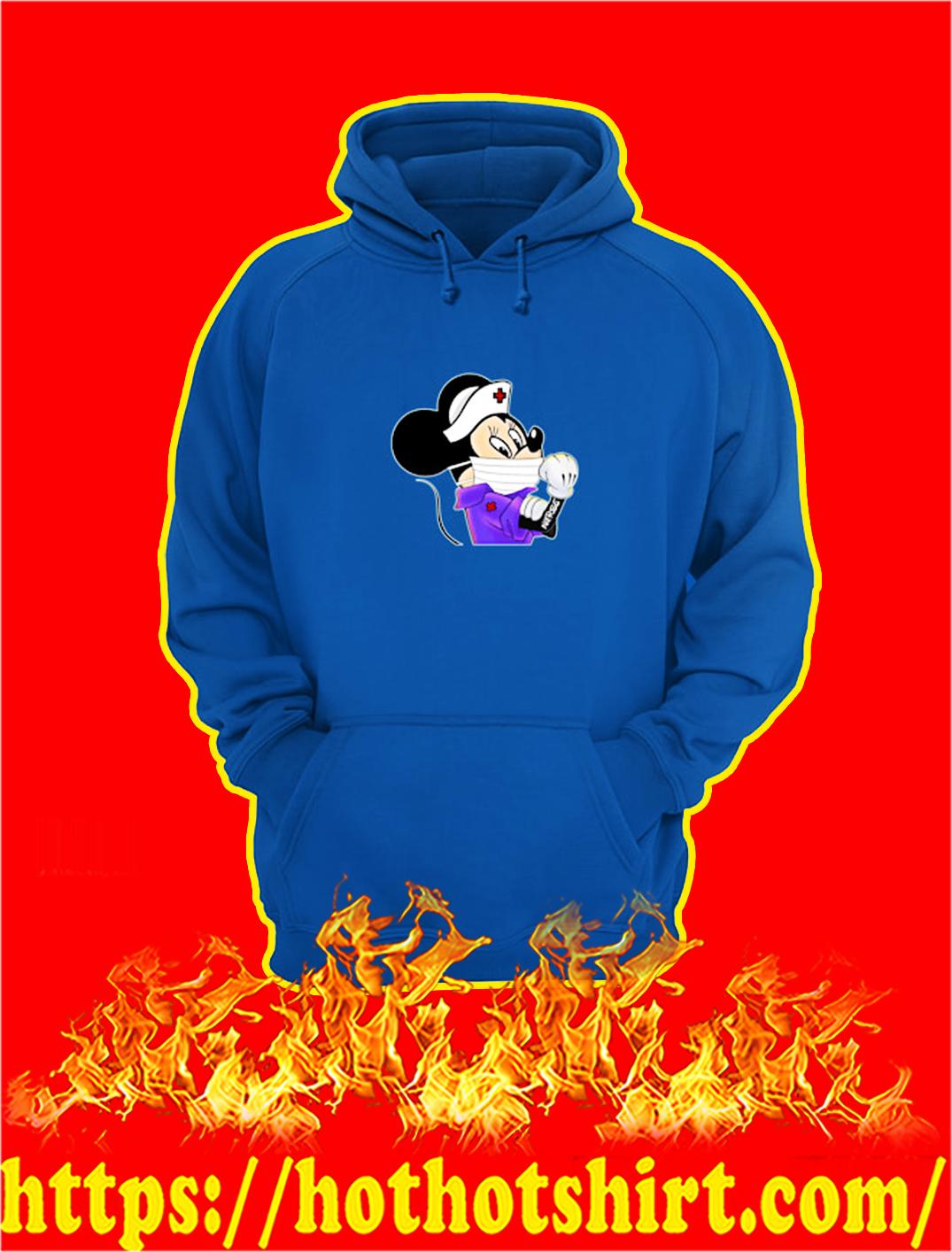 Strong Minnie Nurse Coronavirus hoodie