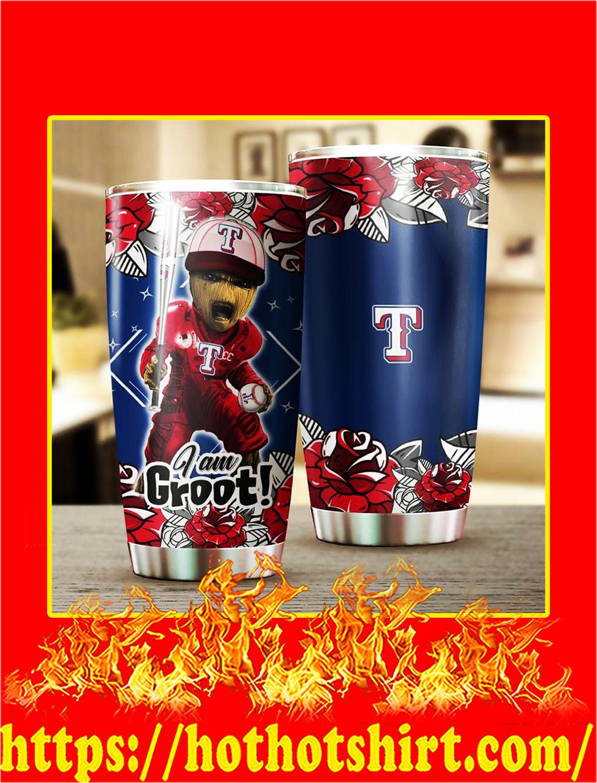 Texas Rangers I'm Groot Tumbler