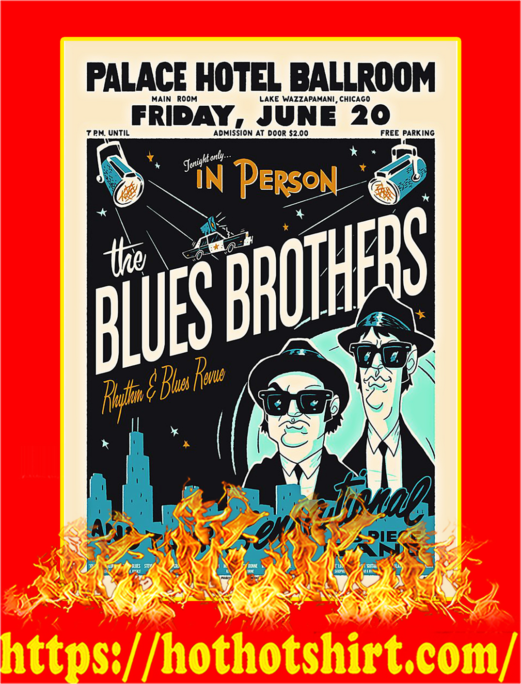 The Blues Brothers Poster - A2