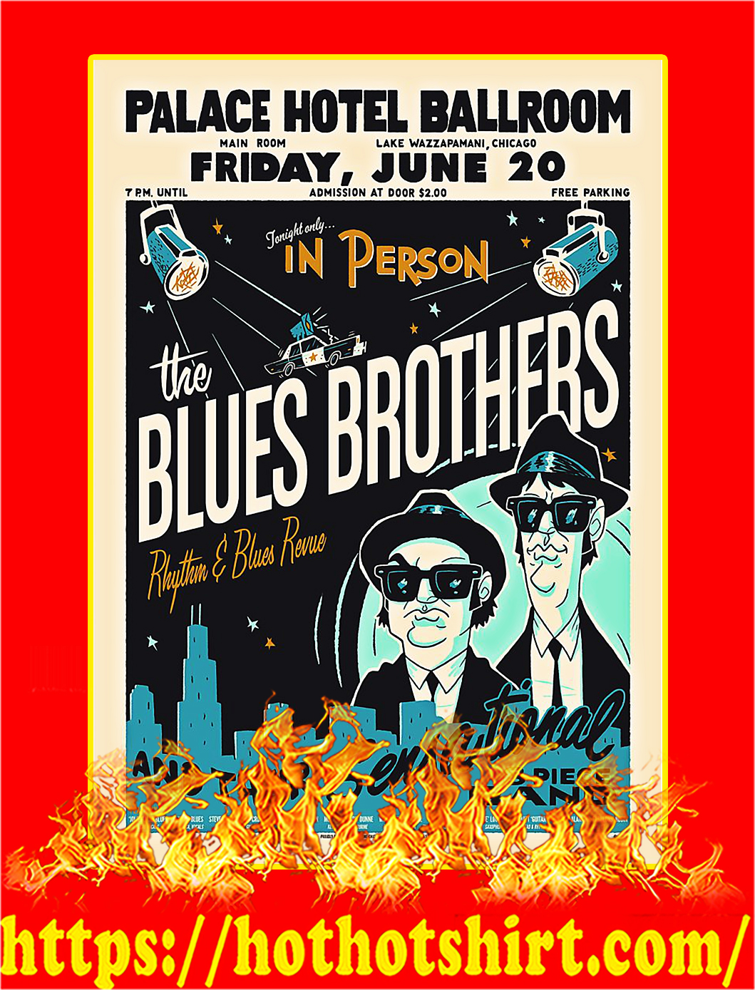 The Blues Brothers Poster - A3