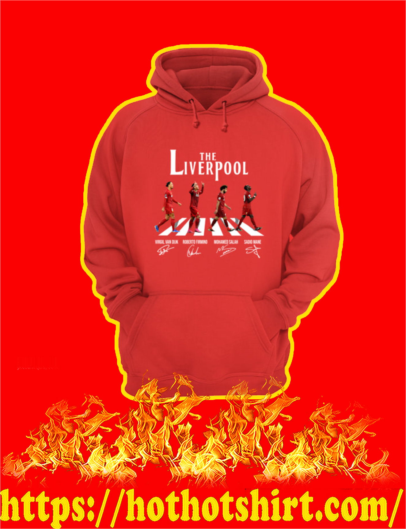 The Liverpool Abbey Road Players Signature Hoodie
