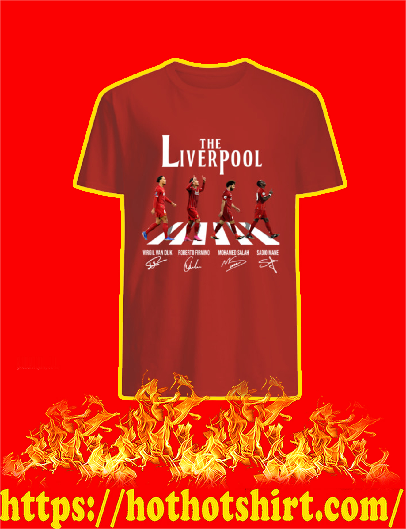 The Liverpool Abbey Road Players Signature Shirt