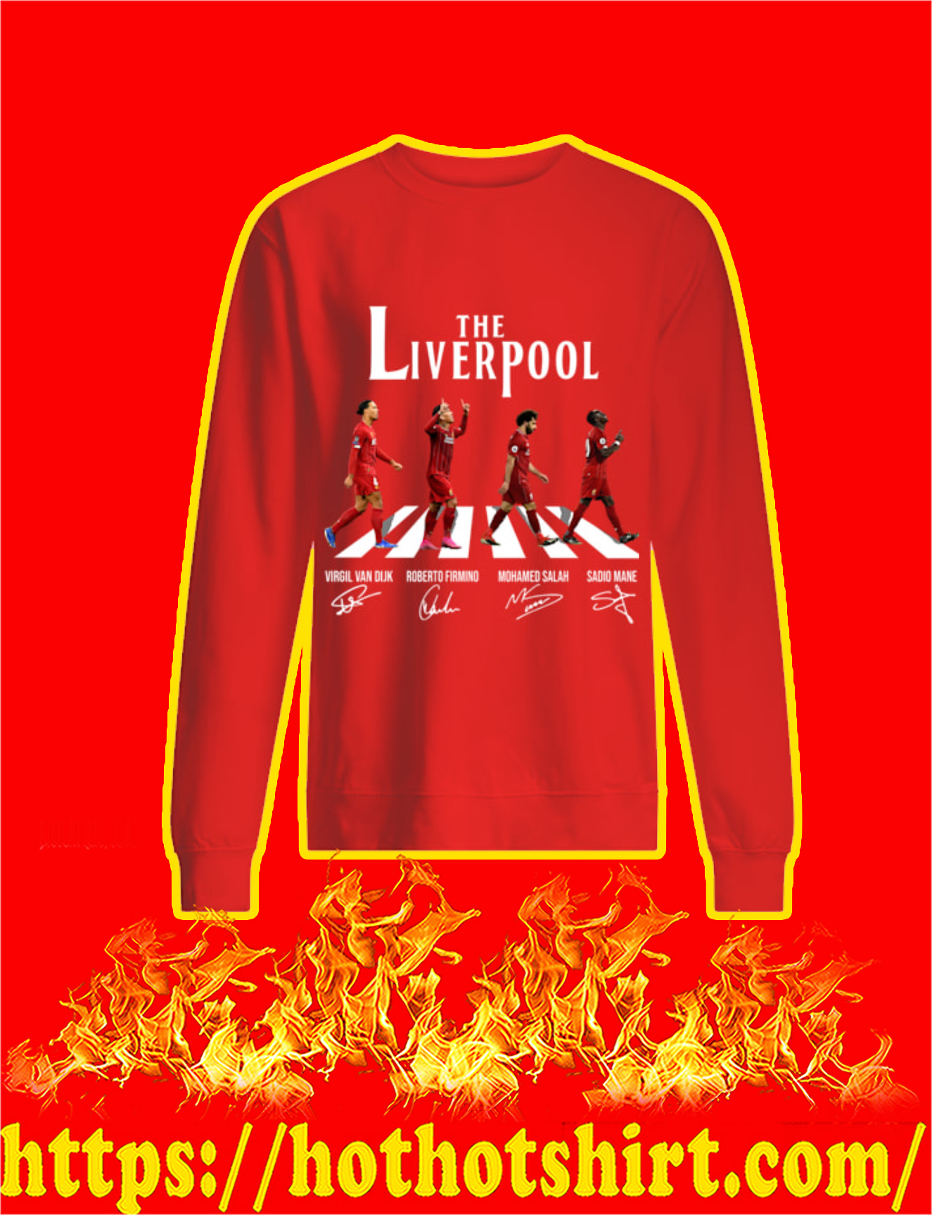 The Liverpool Abbey Road Players Signature Sweatshirt