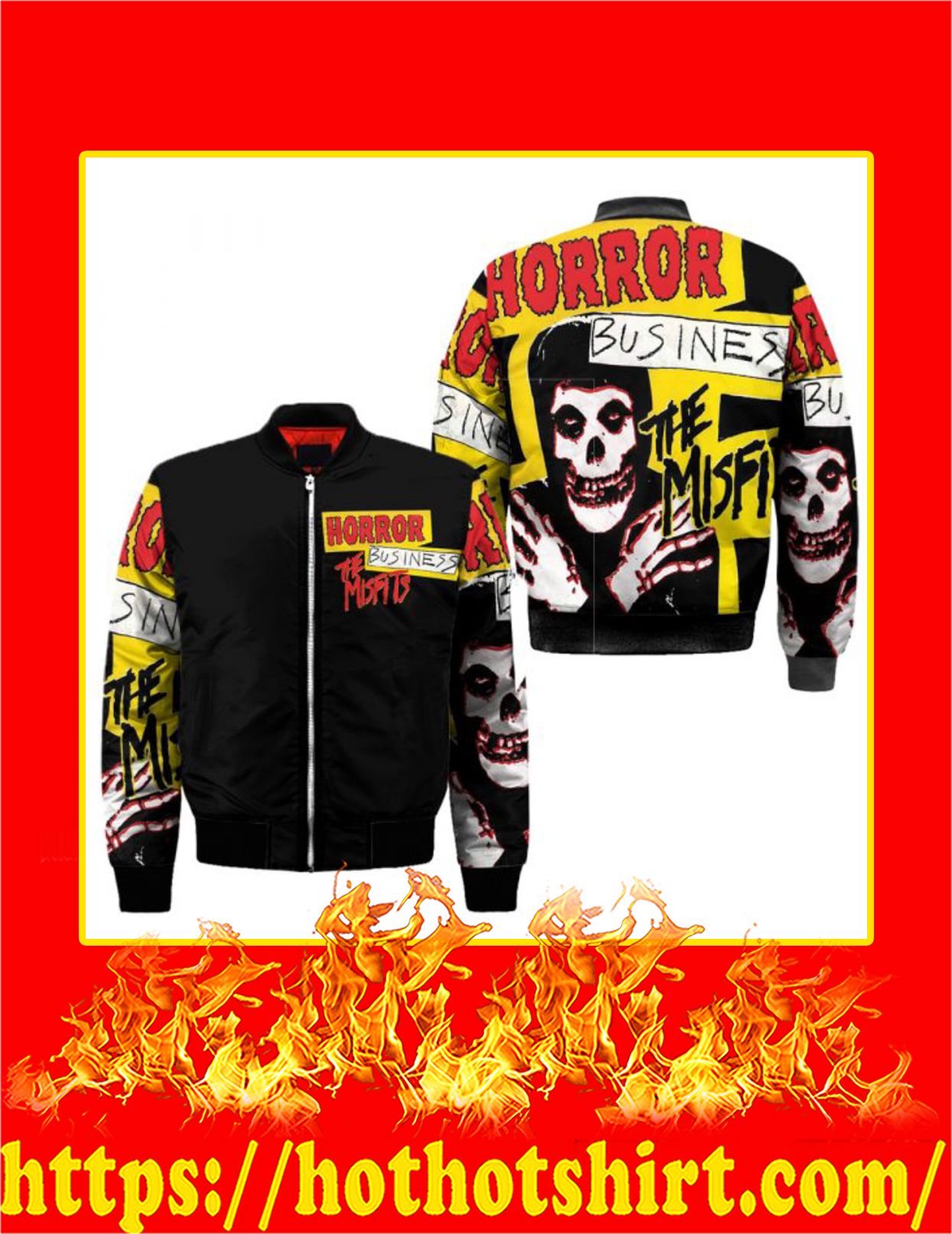 The Misfits Horror Business 3d Bomber