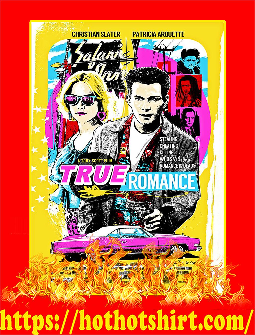 True Romance Poster - A4