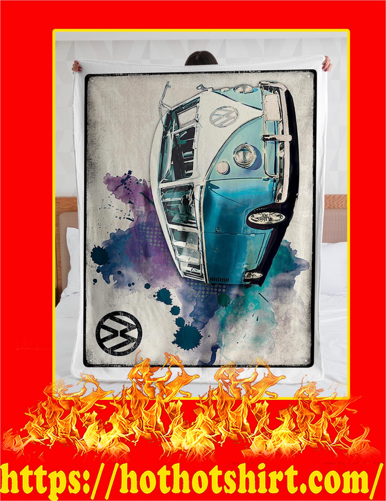 Volkswagen Van Blanket