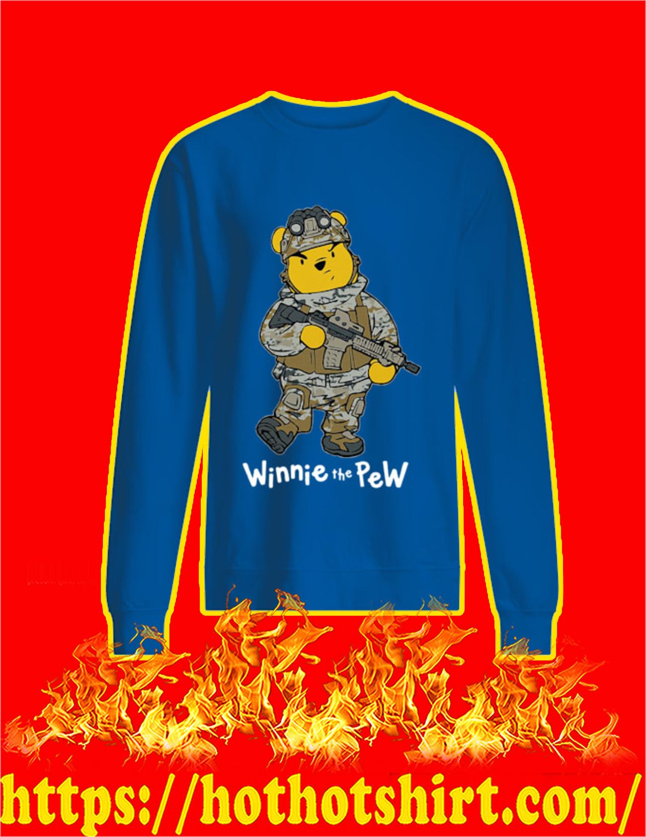 Winnie The Pew Soldier Sweatshirt