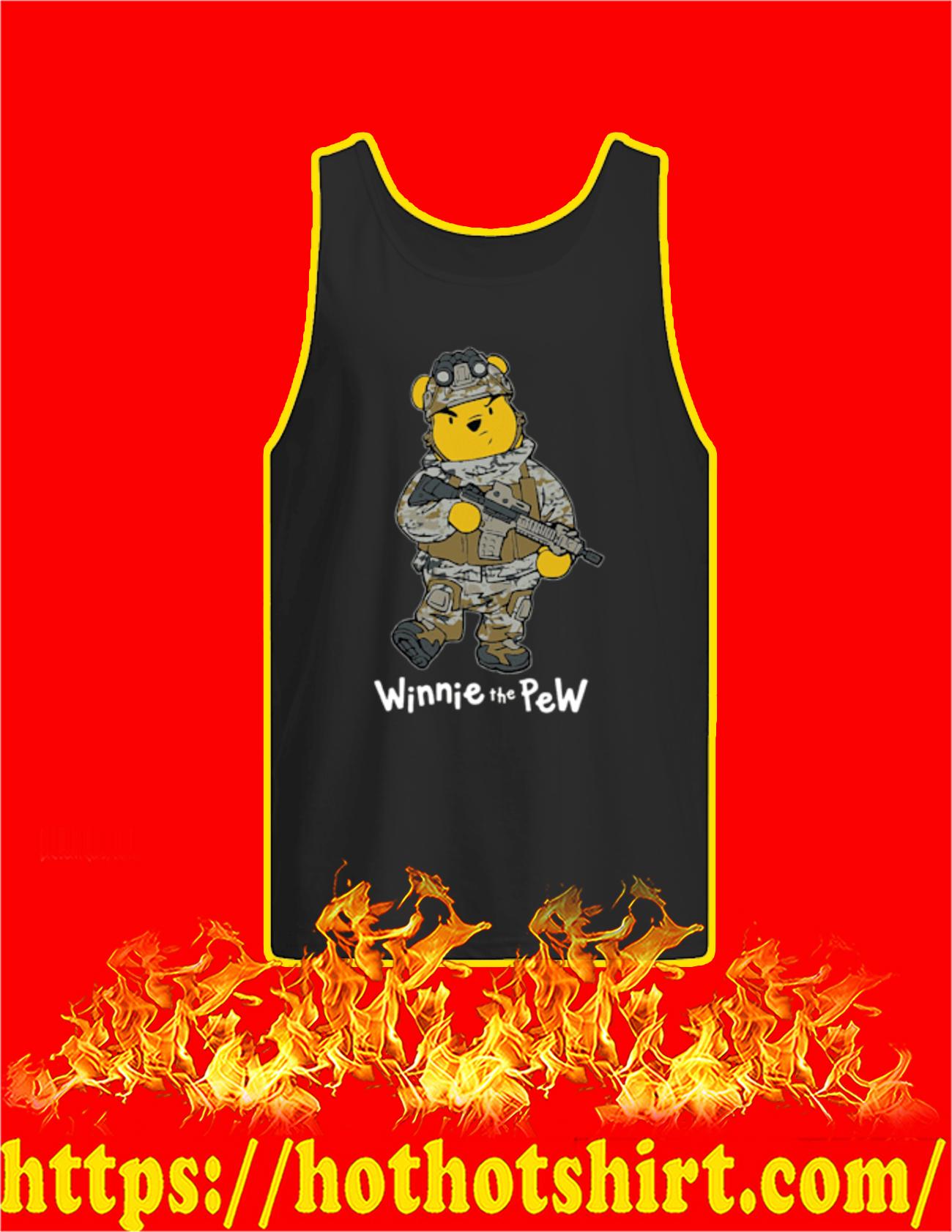 Winnie The Pew Soldier Tank top