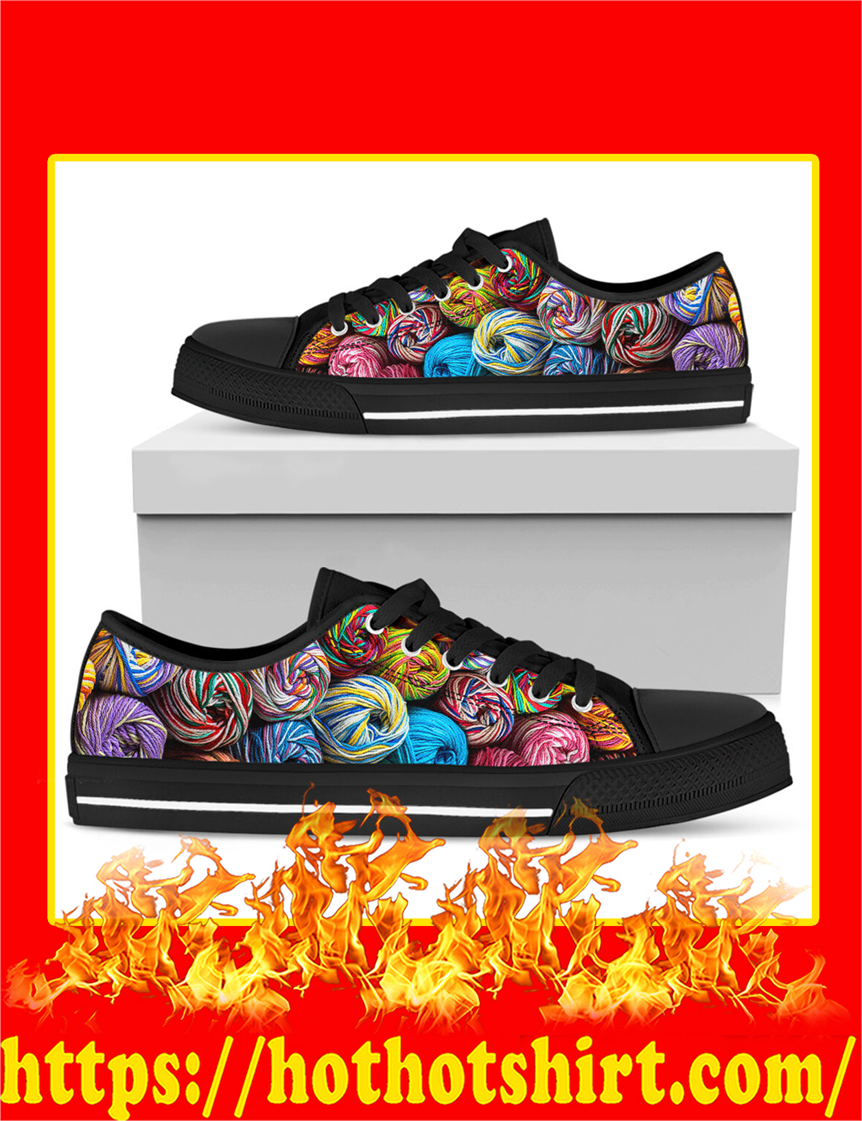 Yarn Low Top Shoes