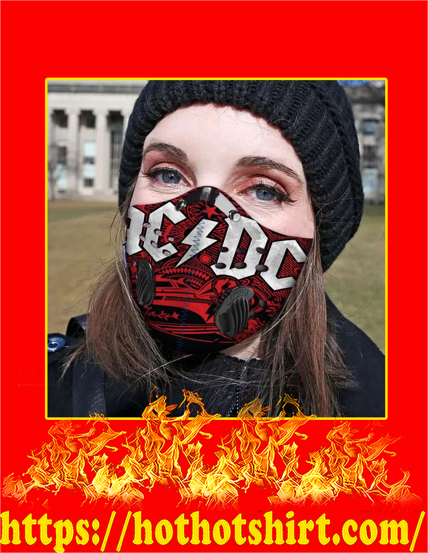 AC DC filter face mask