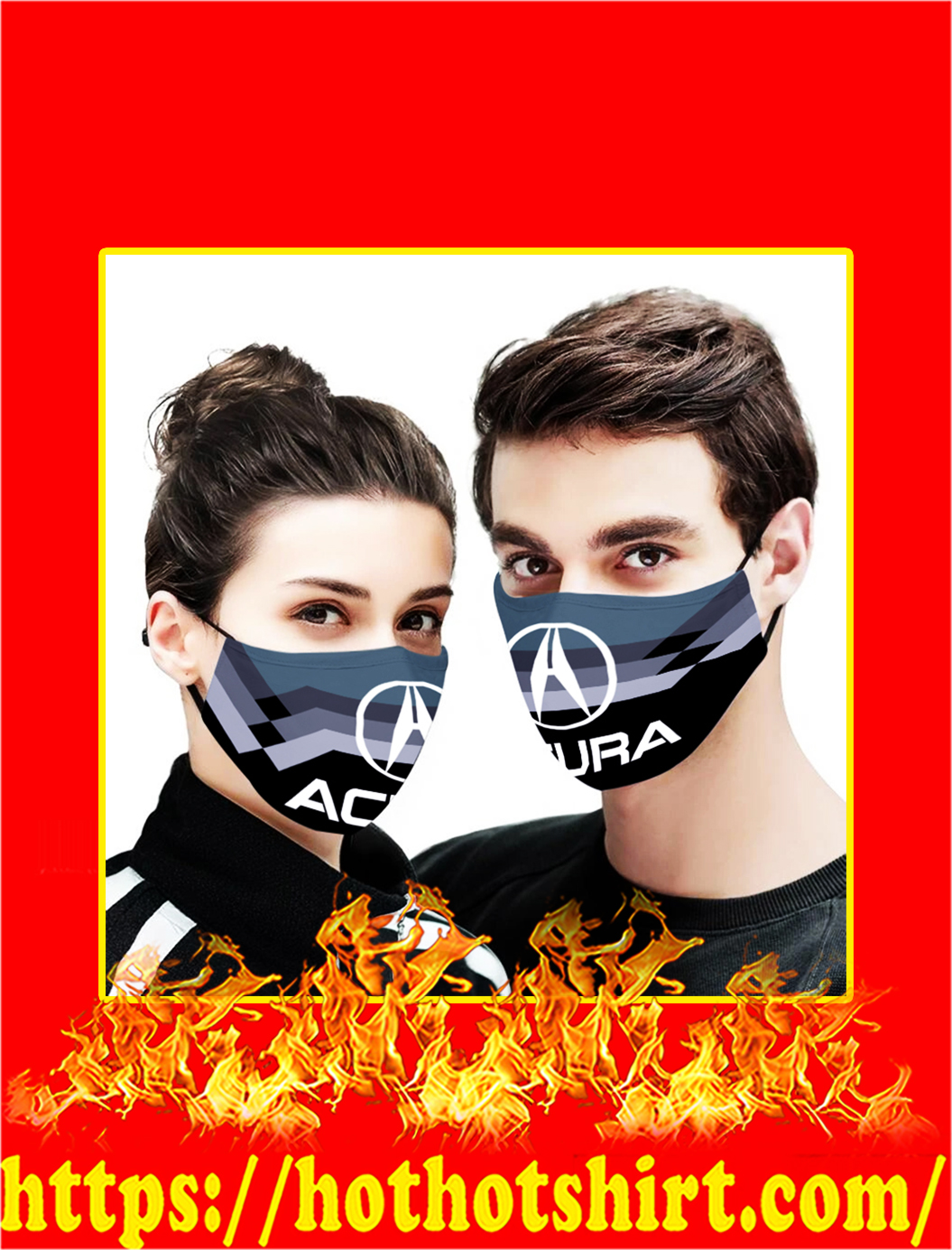 Acura face mask- pic 1