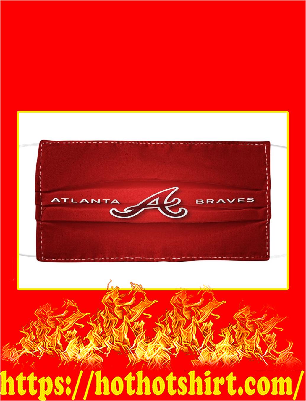 Allanta Braves Cloth Face Mask- pic 1