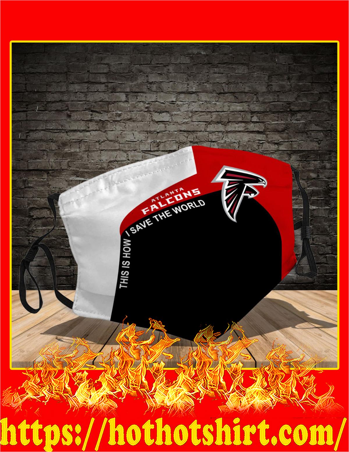 Atlanta Falcons 3d face mask - detail