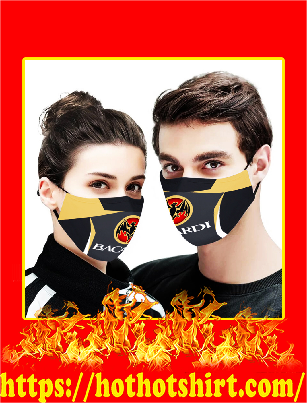Bacardi face mask- pic 1