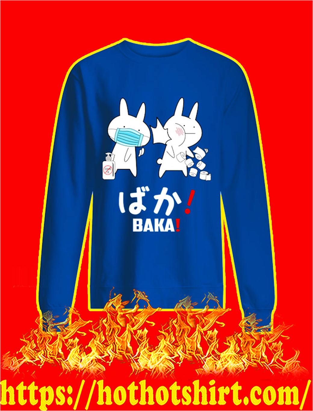 Baka rabbit covid 19 sweatshirt