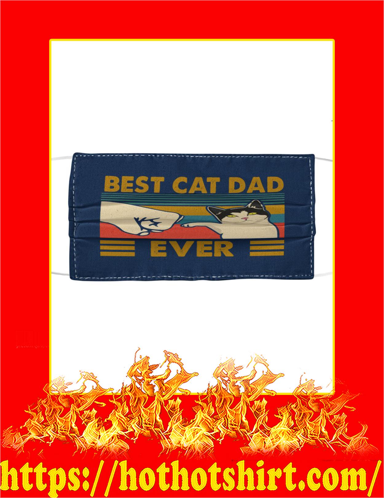 Best cat dad ever face mask - navi