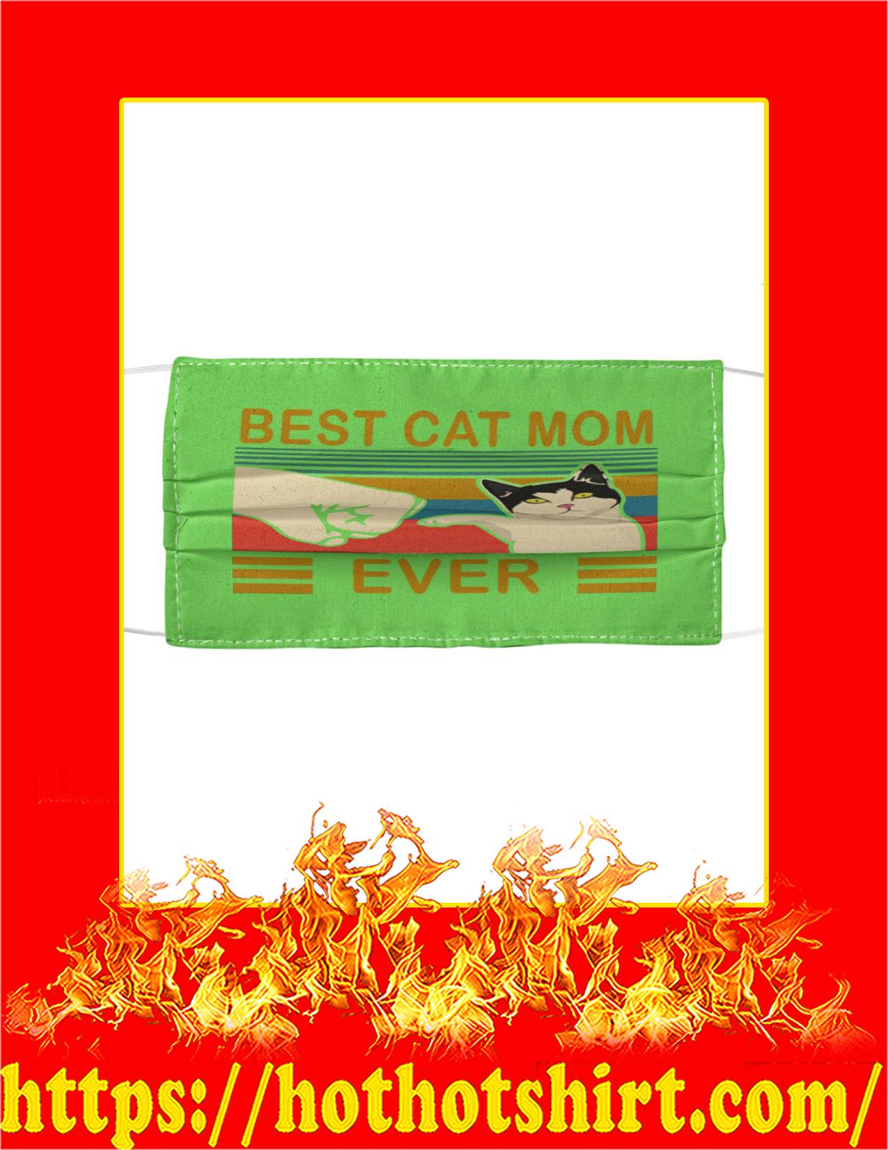 Best cat mom ever face mask - kiwi