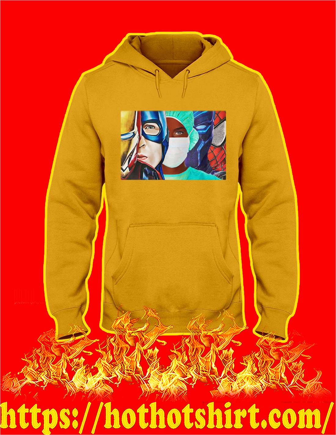 Black Nurse Marvel Superheroes hoodie