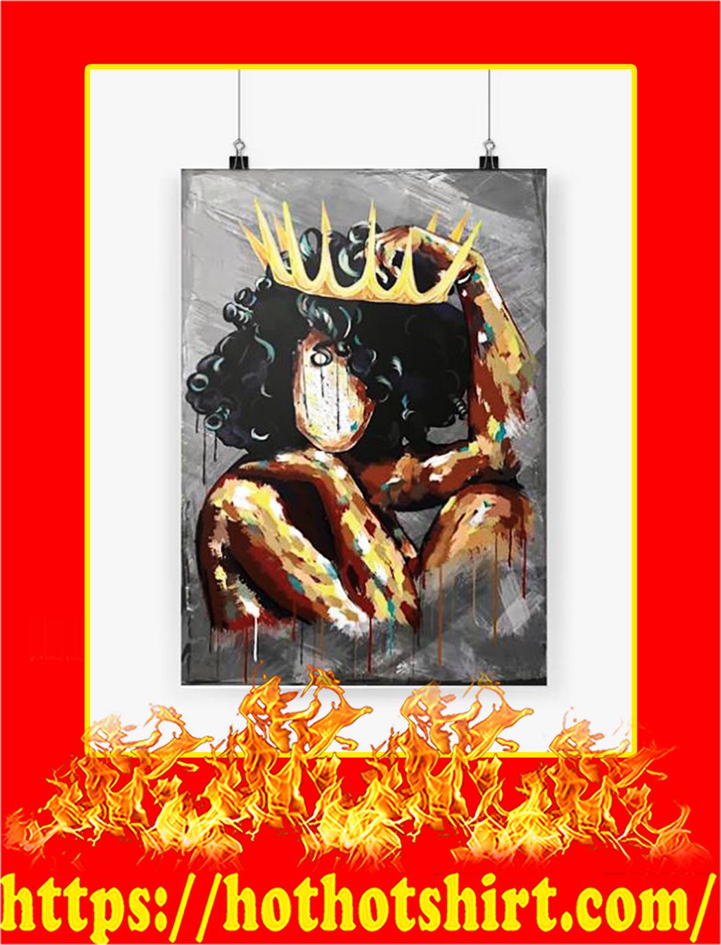 Black Queen Vertical Poster - A2
