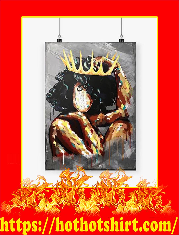 Black Queen Vertical Poster - A4