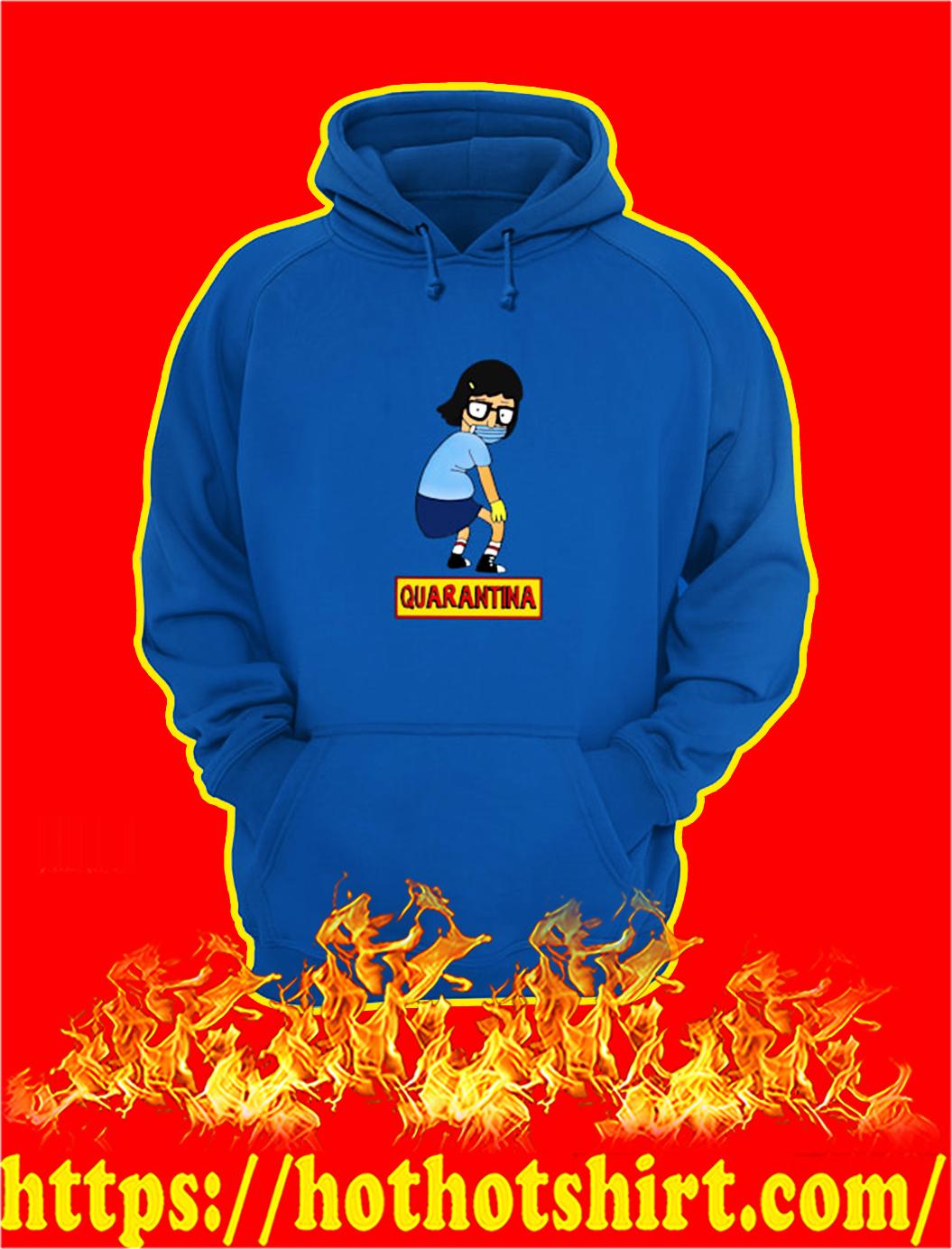 Bob's burgers tina quarantina hoodie