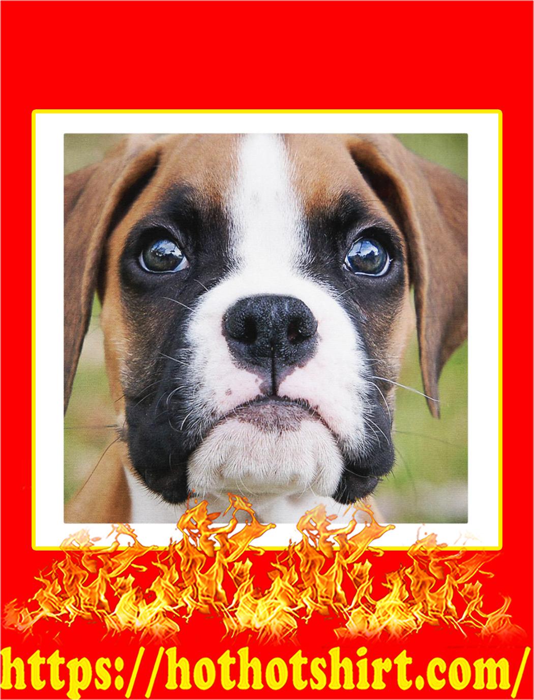 Boxer dog cloth face mask- pic 2
