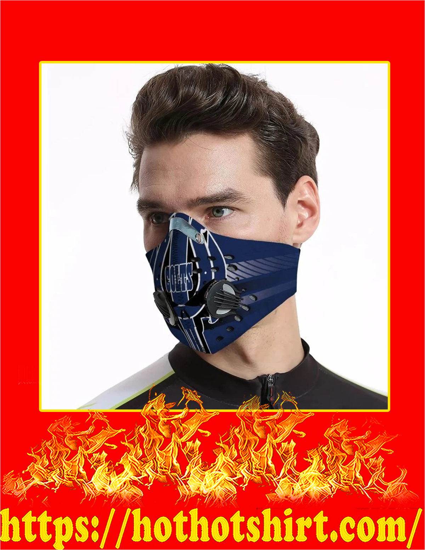 Colts punisher skull filter face mask - Pic 2