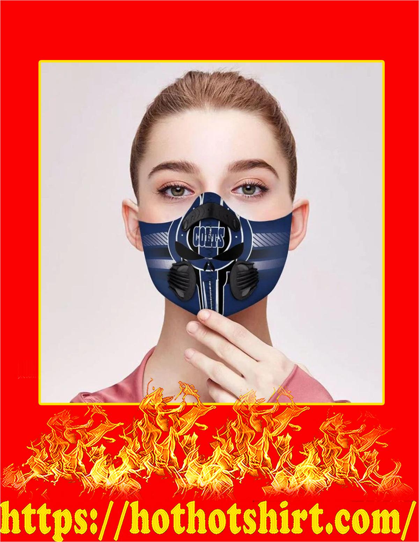 Colts punisher skull filter face mask - Pic 3