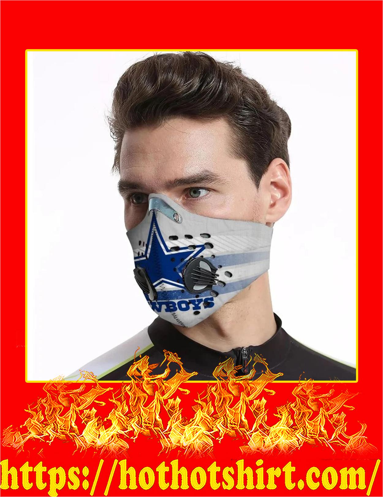 Dallas cowboys filter face mask - Pic 2