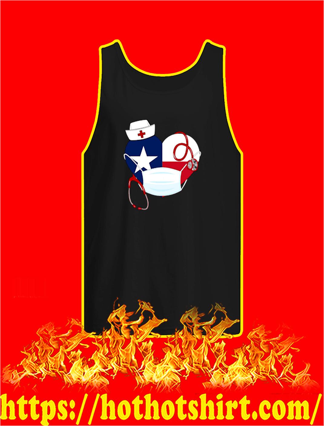 Dallas cowboys nurse heart coronavirus tank top