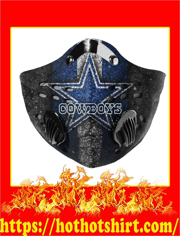 Filter Face Mask Dallas Cowboys