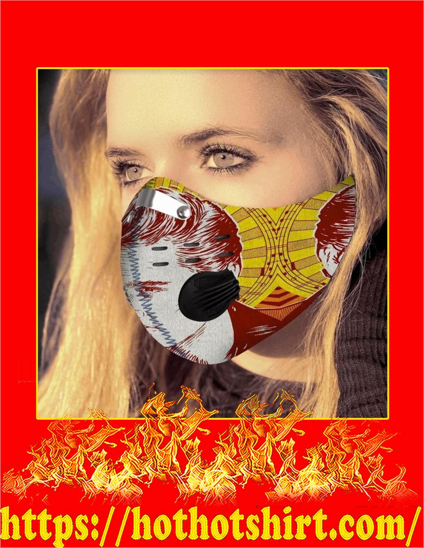 Filter face mask Elvis Presley - Detail