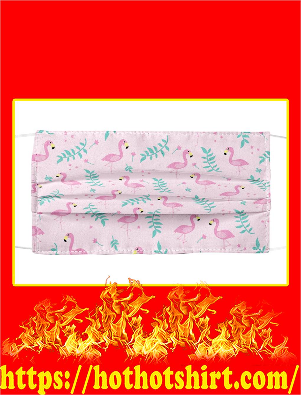Flamingos Cloth Face Mask - pic 1