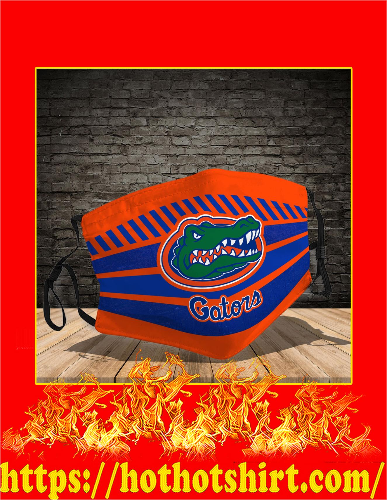 Florida Gators face mask - Detail