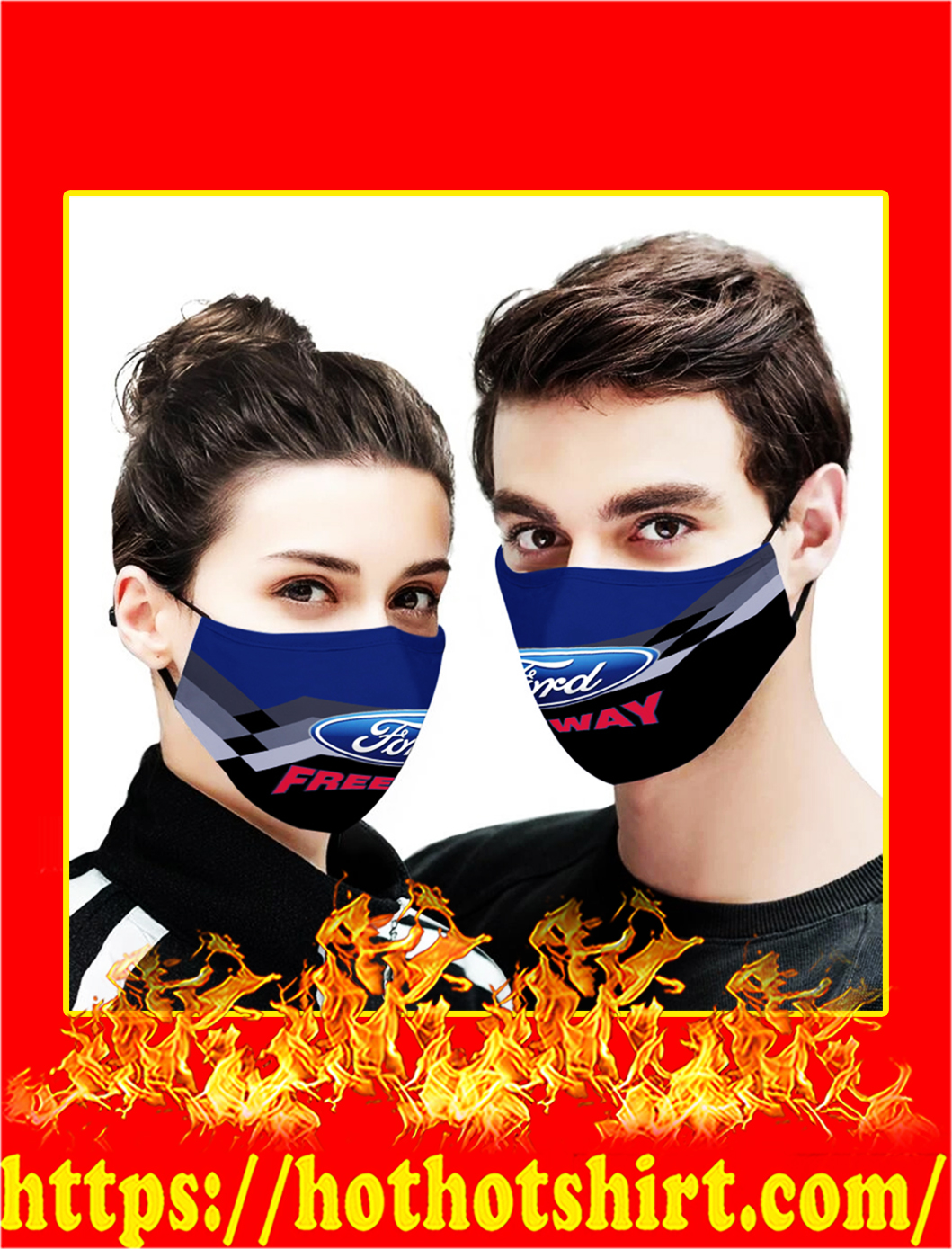 Freeway Ford 3d face mask- pic 1