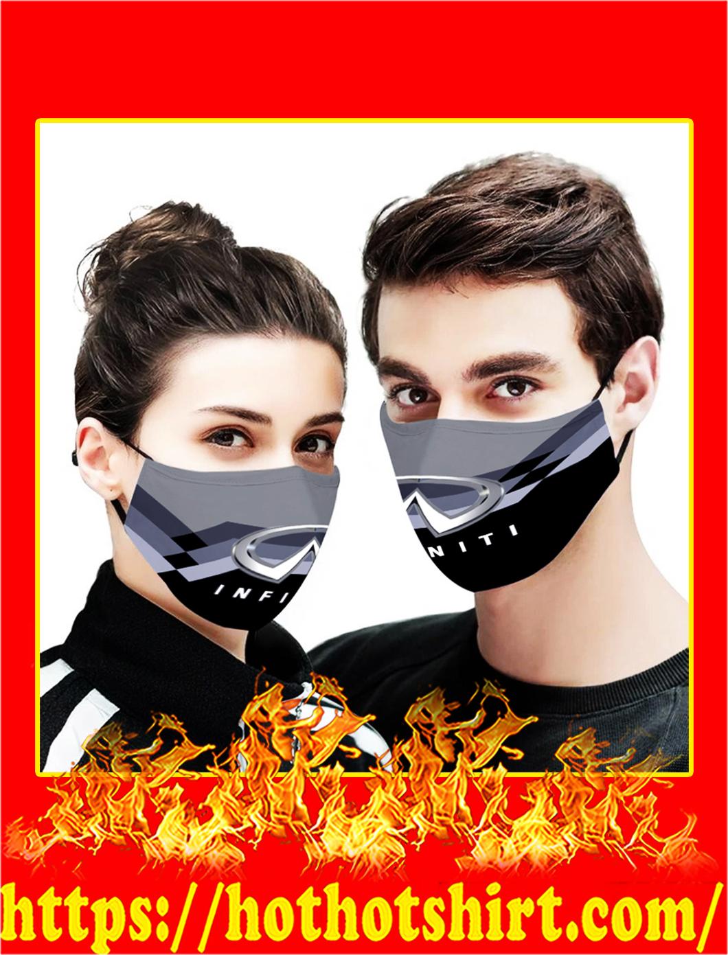 Infiniti 3d face mask- pic 1