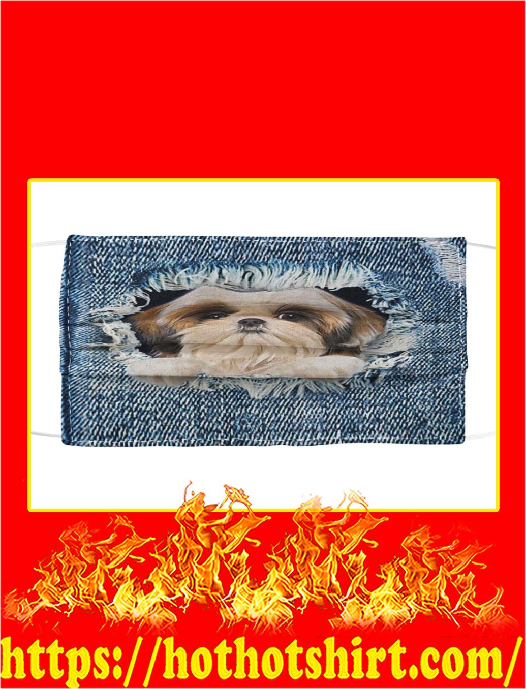 Inside Shih Tzu Cloth Face Mask- pic 1