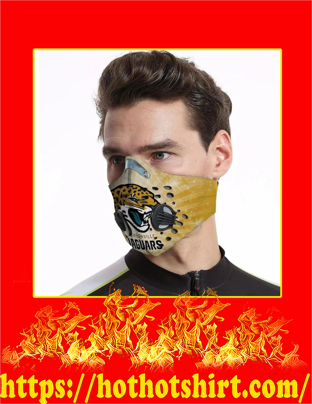Jacksonville jaguars filter face mask - Pic 1
