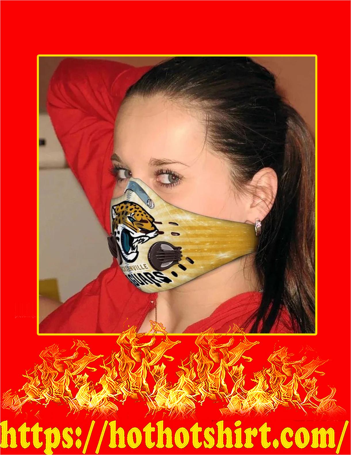 Jacksonville jaguars filter face mask - Pic 3