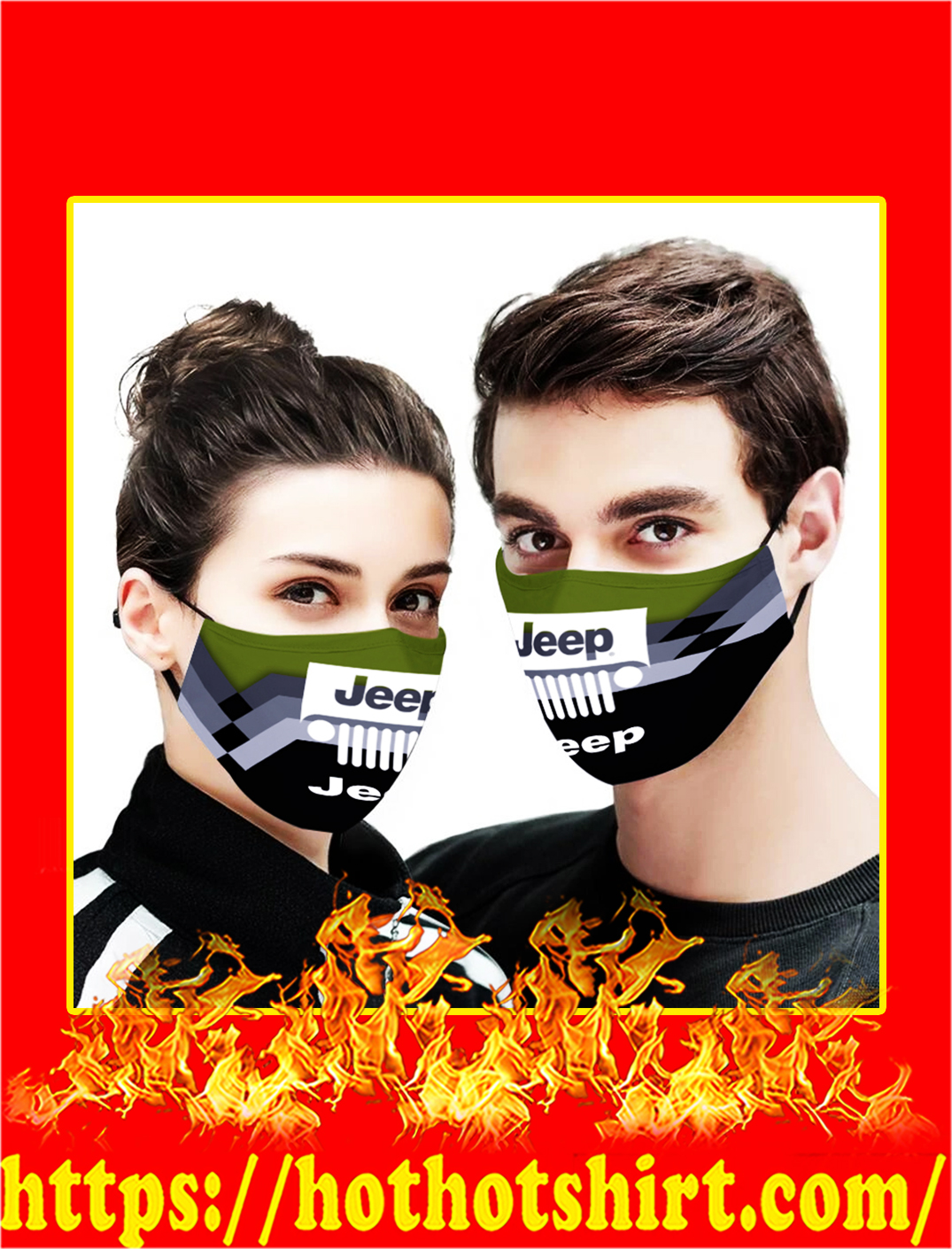 Jeep face mask- pic 1