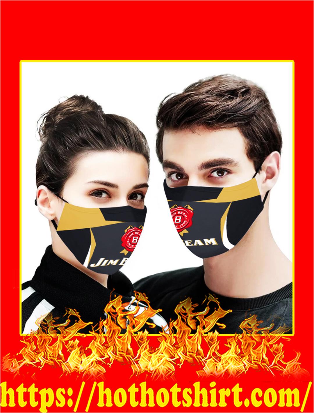 Jim Beam face mask- pic 1
